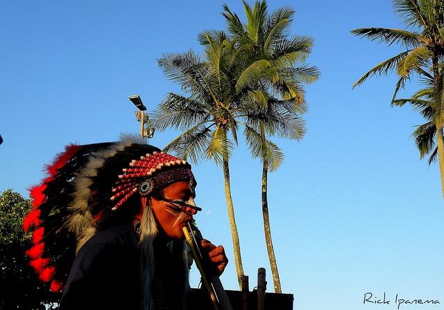 The Latin American Indian in the Tropics - Indio Latino Americano nos Tropicos, via Flickr.