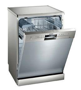 Siemens IQ-100 SN25M831GB Freestanding Standard Dishwasher - Stainless Steel