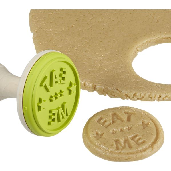 eat me cookie stamp in view all gifts | CB2