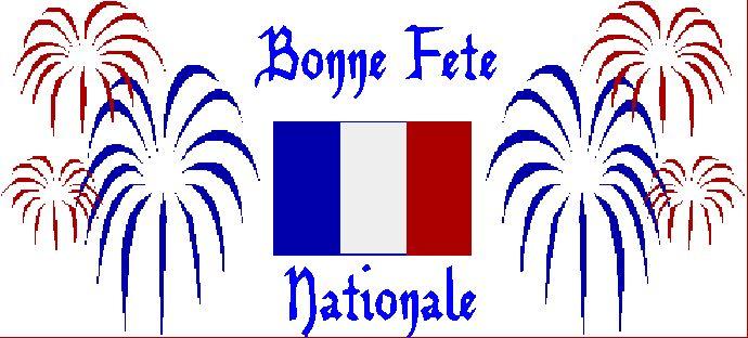 Bon 14 juillet - Fête Nationale