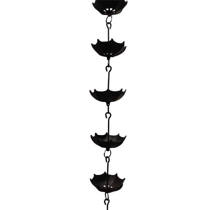 Rain Chain - Umbrella - Black Finish - High Quality Outdoor and Casual Furniture - Buy online or in Burlington, Mississauga, London,…
