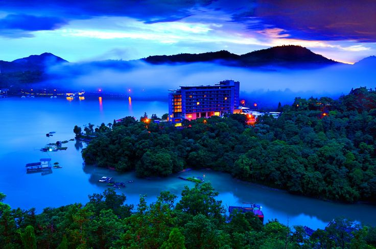 Sun Moon Lake is the largest body of water inTaiwanas well as a tourist attraction. It is located inYuchi,Nantou, which is surrounded by the beautiful lake and home to theThaotribe, one of th...