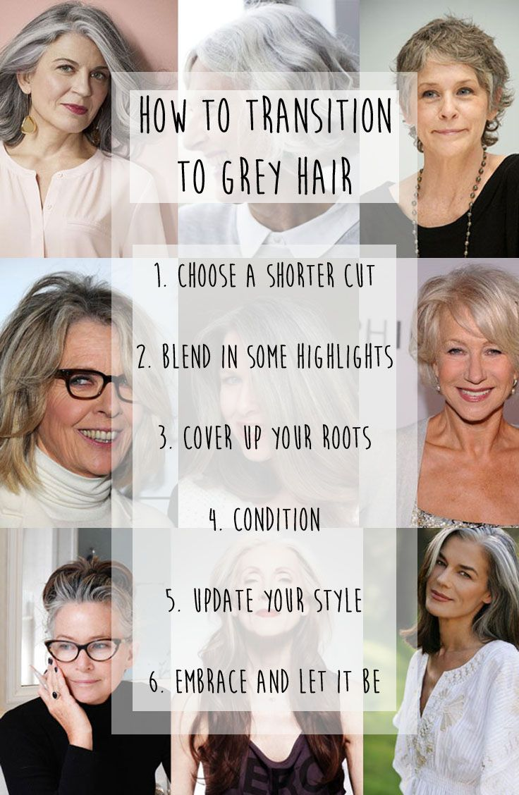 Ditch the dye and embrace the grey | hairstyle ideas ...