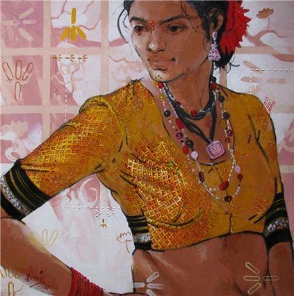 Attitude Indian Contemporary Art
