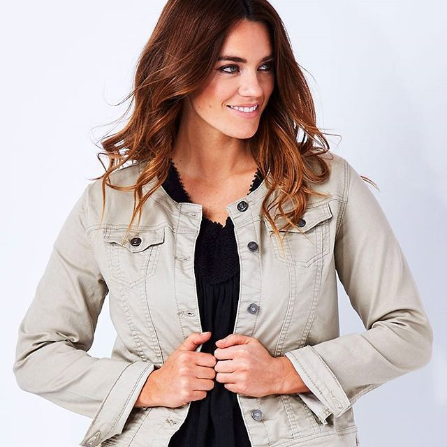 If you love the idea of a denim jacket but haven't quite found the right one…