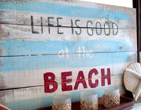 DIY Art with Sayings: http://www.completely-coastal.com/2012/01/art-with-sayings-quotes-words-inspired.html
