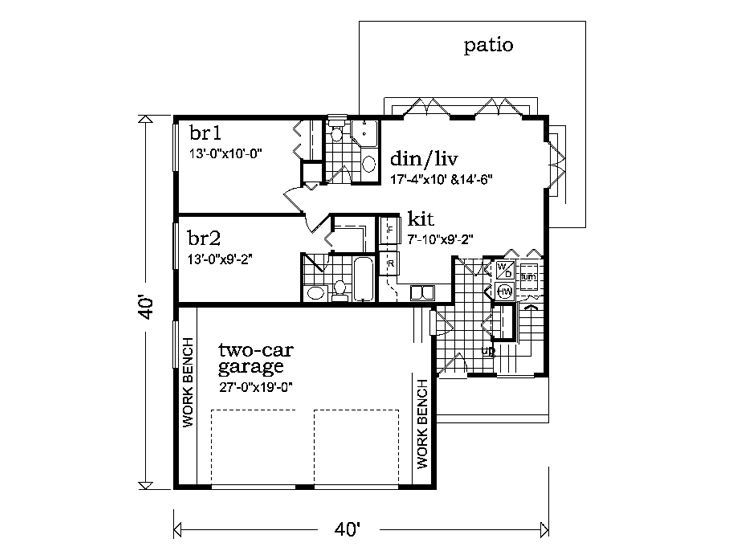 59 best images about floor plans on pinterest house plans steel garage and garage apartment plans - Houses bedroom first floor fit needs ...
