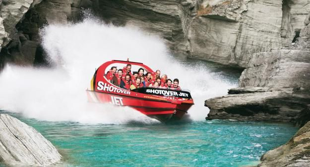 Jetboat en Queenstown – Nueva Zelanda