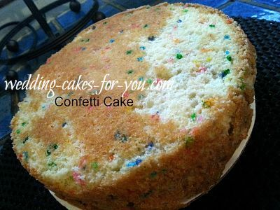 A delightful confetti cake recipe for your baking repertoire. This one is made using my best white cake recipe with the addition of crunchy little colorful confettie candy