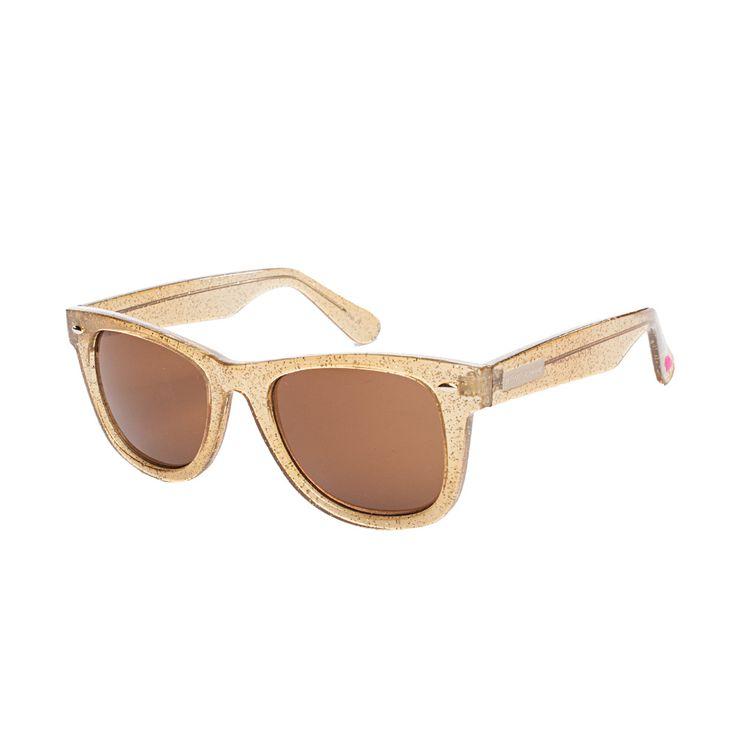 e5695b66a52 Betsey Johnson Leopard Wayfarer Sunglasses