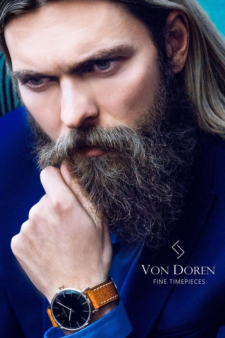 Ad for Von Doren Fine Timepieces.  Model: Enok Groven, Photographer: Arne Beck