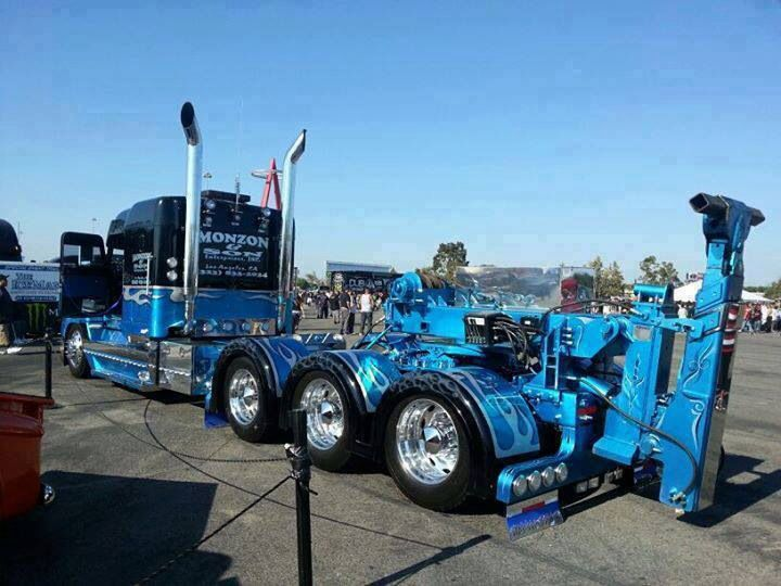 Aaa Towing Cost >> Big rig wrecker at your service. T.R.A. also know as Tow Recover Assist is the premiere, low ...