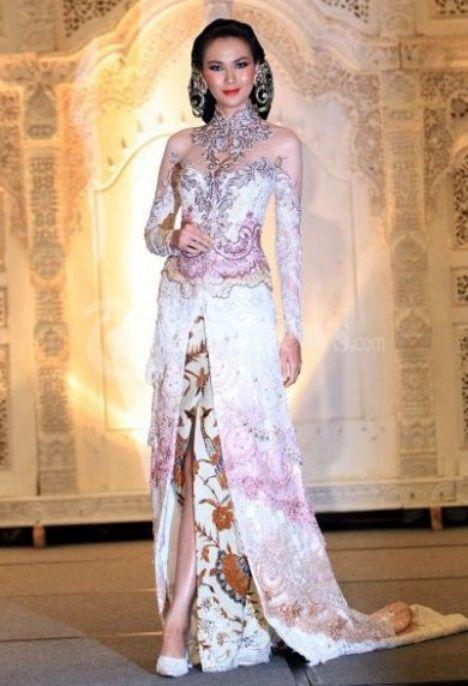 model baju kebaya pengantin sunda modern
