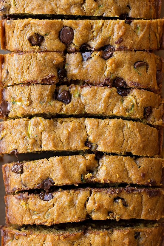 Pumpkin and spice adds a hint of fall to this moist and tender zucchini bread. It's easy to make and even easier to customize with chocolate chips or chopped nuts!