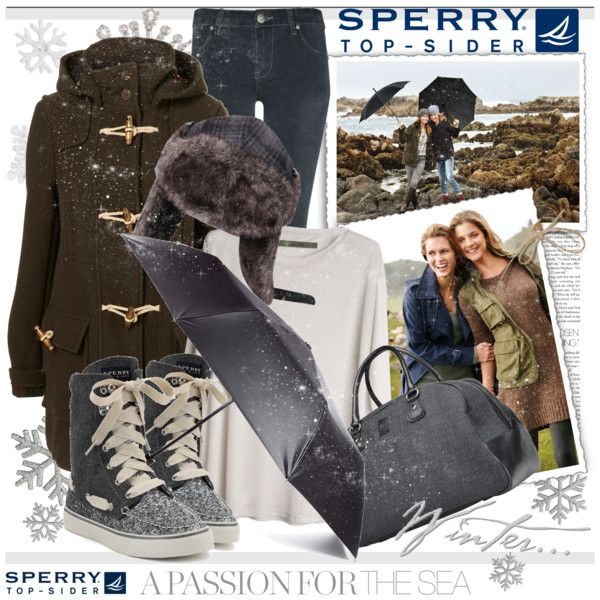 love the coat and the sperry high tops