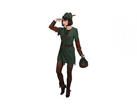 Jagerin 3 Tlg Kleid Gurtel Hut Karneval Kostum Gruppe Kostum