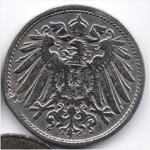 Germany 10 Pfennig 1900 D op eBid België