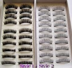 20 Pairs Regular Long and Thick Eyelashes Style 1 and 2     ONLY $2.52 http://secretwomaninme.blogspot.com/2014/10/the-art-of-looking-beautiful.html