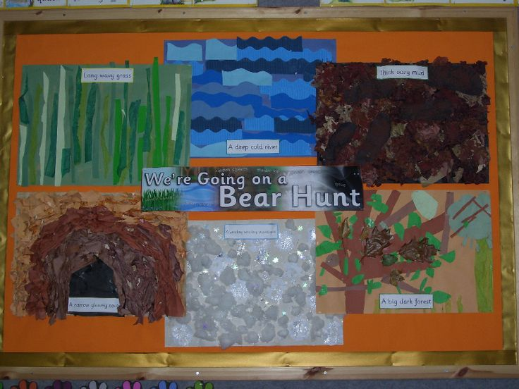 We're Going on a Bear Hunt classroom display photo - Photo gallery - SparkleBox