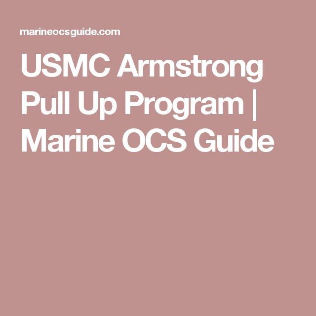 USMC Armstrong Pull Up Program | Marine OCS Guide