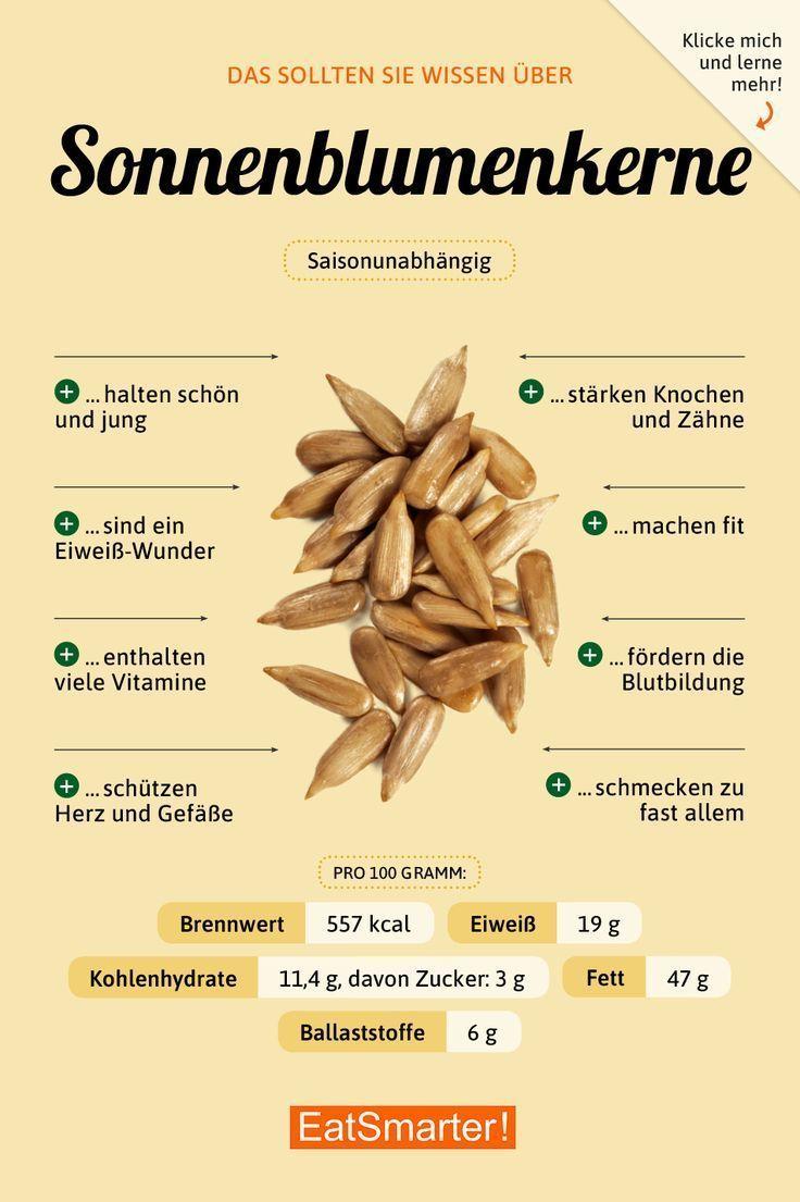 Das solltest du über Sonnenblumenkerne wissen