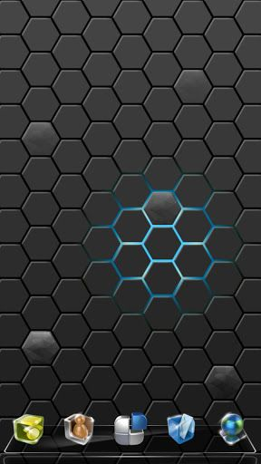 Next Honeycomb live wallpaper, designed for Next Launcher, is released now.