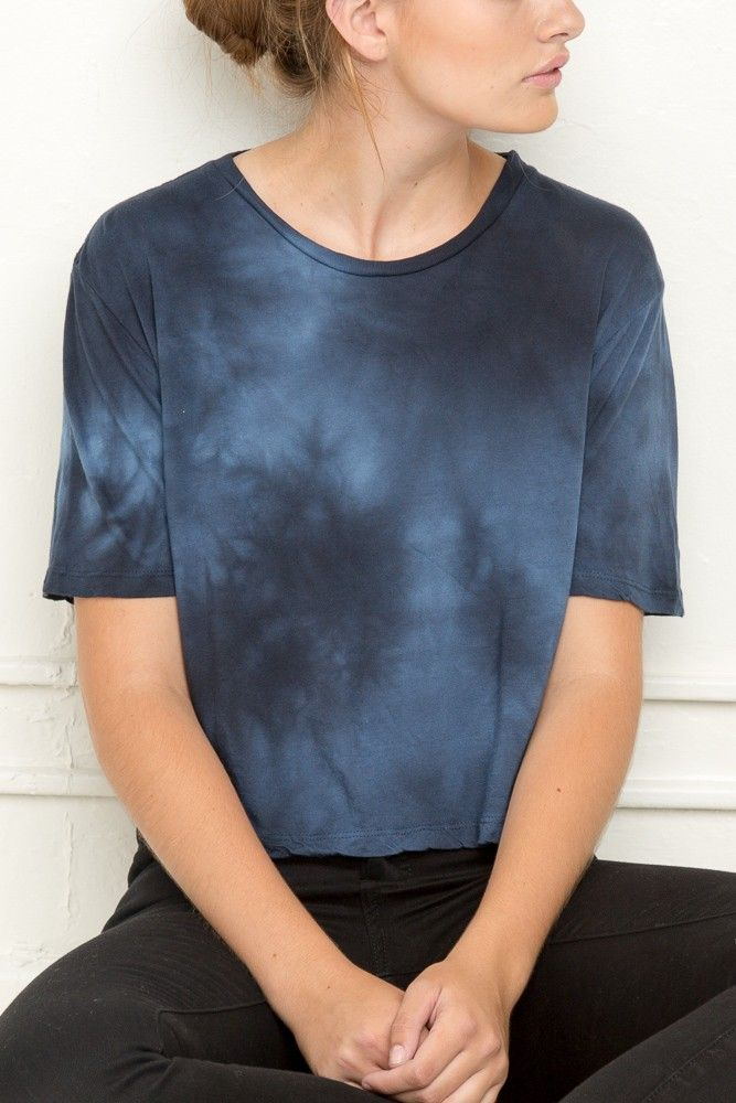 Brandy ♥ Melville | Aeryn Tie-Dye Top - Tops - Clothing (18.00)