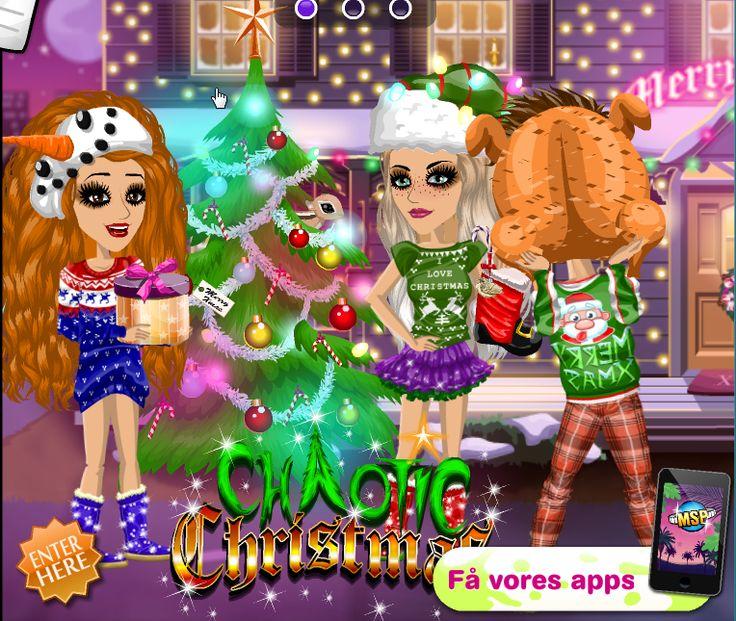Chaotic Christmas theme on #moviestarplanet #MSP #xmas #holidays www.moviestarplanet.com