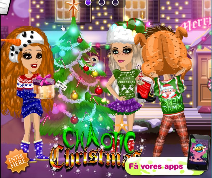 Chaotic Christmas theme on #moviestarplanet #MSP #xmas #holidays www.moviestarplanet.com