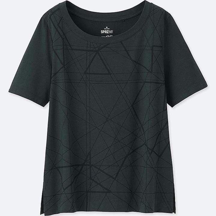 Women's Sprz Ny Graphic T Shirt (francois Morellet) #mind
