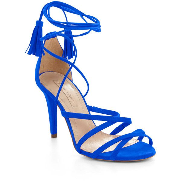 1000  ideas about Blue And White Strappy High Heels on Pinterest