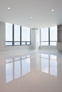 Diamond polished concrete floors
