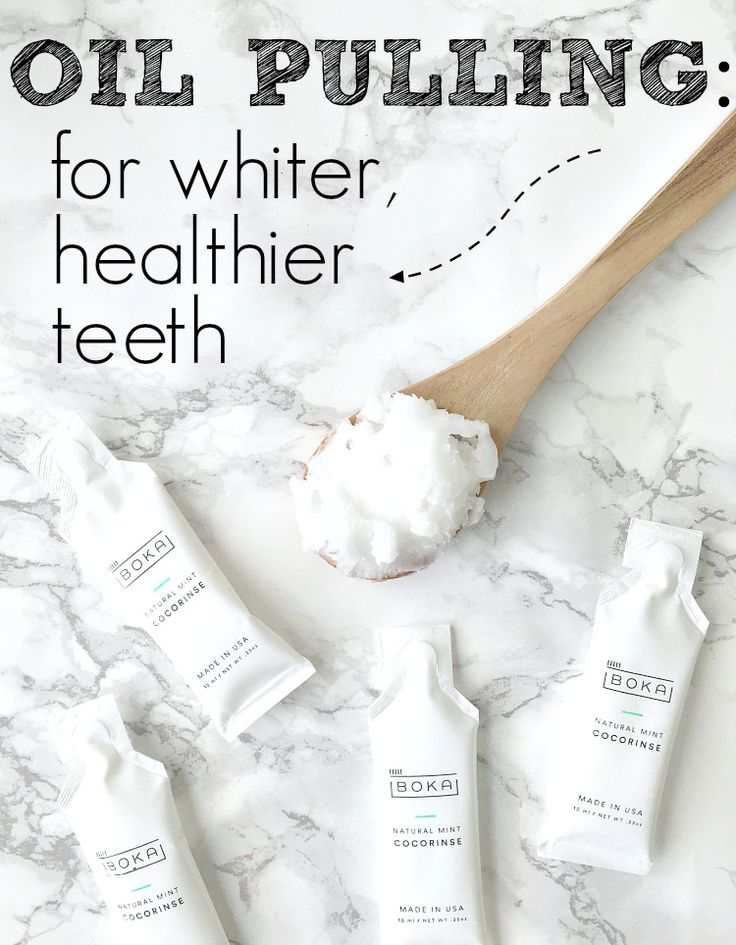 The BEST Natural Way to Whiten Teeth: Oil Pulling with Organic Unrefined Coconut Oil. Learn the why's and how's, enter the giveaway and start participating in my 14-Day Challenge today! From The Glowing Fridge.