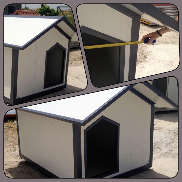 Ειδική παραγγελία... για μεγάλα σκυλιά. Huge dog house for big dogs over 55 Kgrs. Contact us for details.