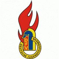 Jugendfeuerwehr DFV Logo. Get this logo in Vector format from https://logovectors.net/jugendfeuerwehr-dfv/