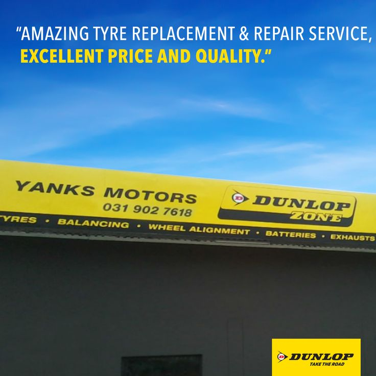 Zaheer Khan only had good things to say about Dunlop Zone Prospecton - Yanks Motor. For professional service and quality products, visit our website to find your nearest Dunlop dealership.