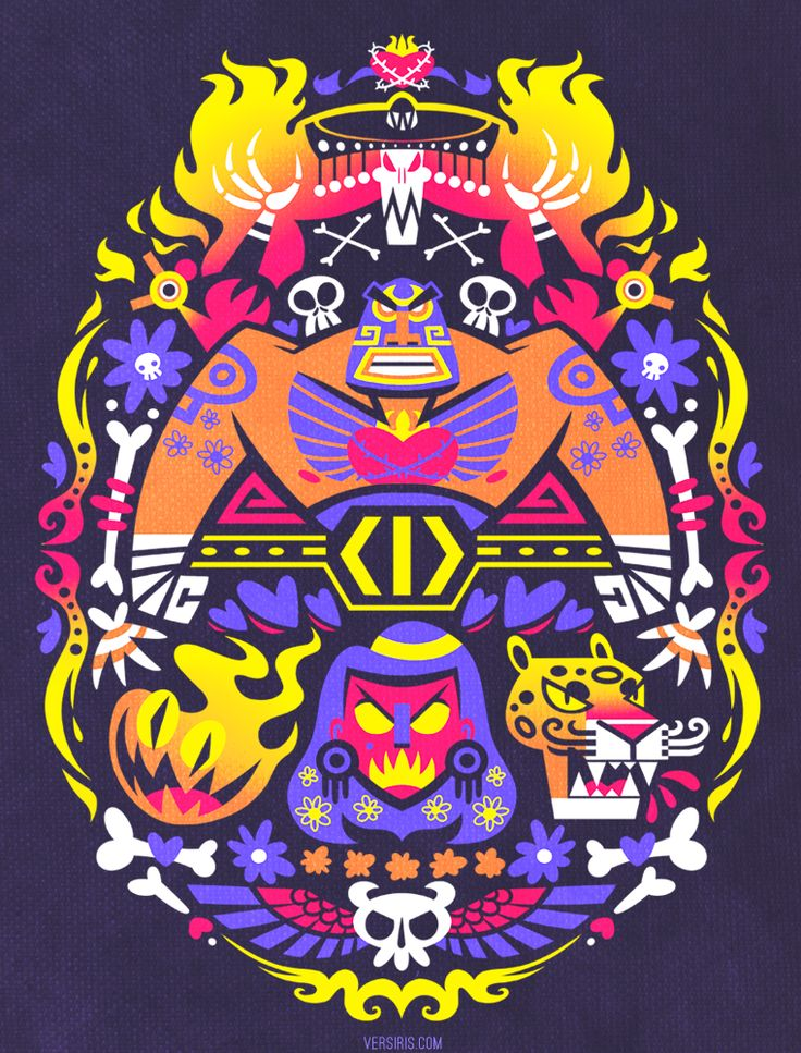 Dia de Calaca [T-shirt] by Versiris.deviantart.com on @DeviantArt