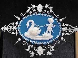Amazing royal icing designs by Eddie Spence & Debbie Brown in Kuala Lumpur.