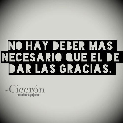 Frases • #Frases de Cicerón #citas #quotes
