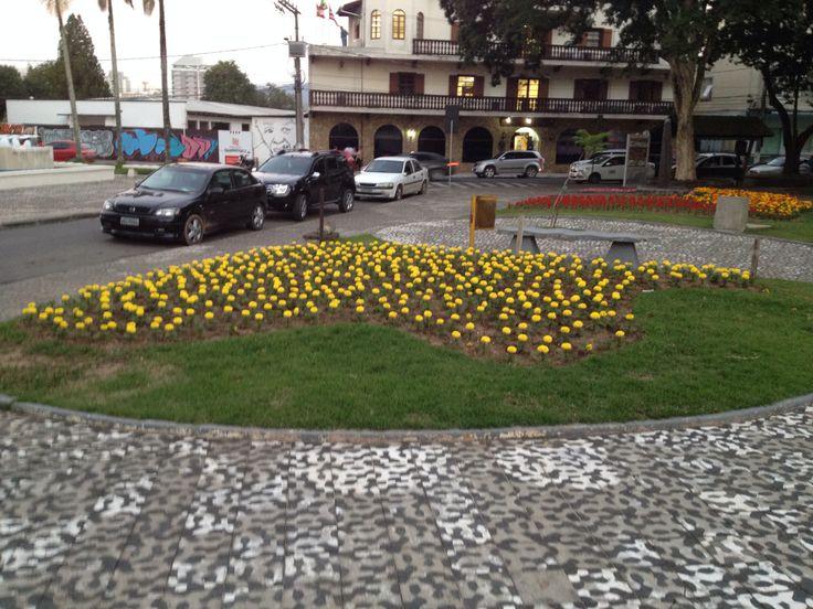Jardim florido Prefeitura