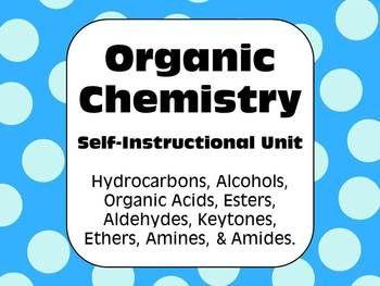 how to self study organic chemistry