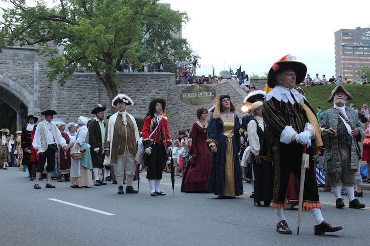 Défilé des fêtes de la Nouvelle-France 2014 - Québec, QC, Canada