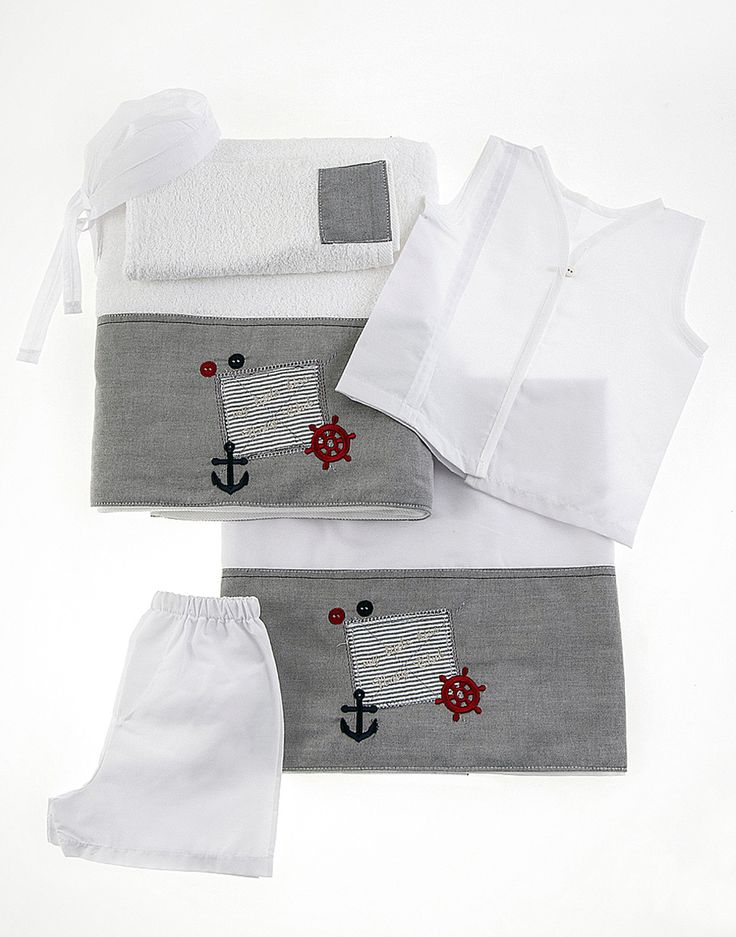 Λαδόπανα για αγόρια με ναυτικό θέμα #βάπτιση