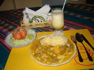 Plato picante de… en Suma Puriwa - Camiña. Norte de Chile