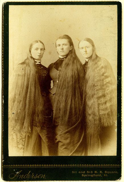 "Long Hair Was a womans ""GLORY"" In Victorian Era!"