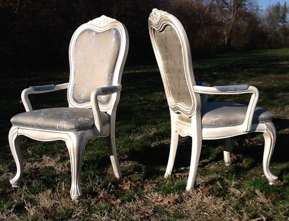 Elegant Formal Dining Chairs Reserved for Bria by OrangeNolive, $840.00