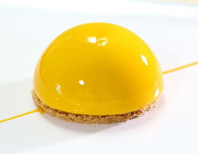 Mango Mousse Dome