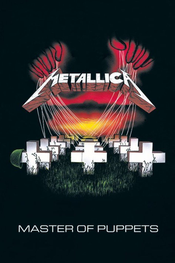 Metallica - Master of Puppets - Official Poster