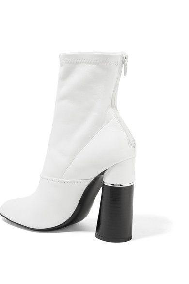 3.1 Phillip Lim | Kyoto leather sock boots | NET-A-PORTER.COM