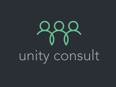 Dribbble - Unity Consult - Logo challenge by Tommy Bæk Søgaard